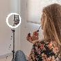 Kit Studio Live KSIX LED Ring avec trépied pour smartphone